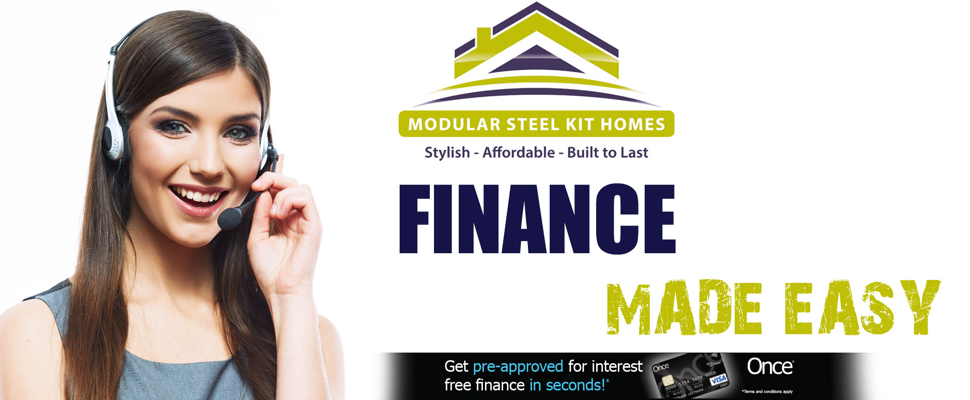 Modular Steel Kit Homes Finance