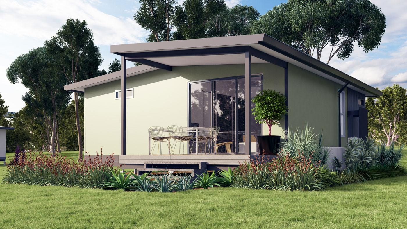 Miihome 1 Bedroom Duplex Type C Modular Steel Kit Homes