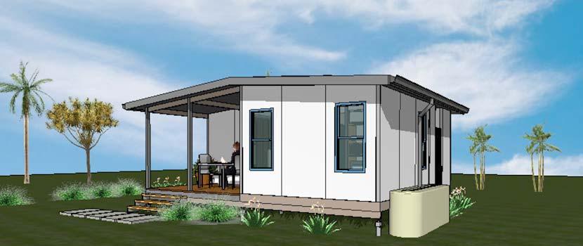Miihome 1 Bedroom Flat Type E Modular Steel Kit Homes