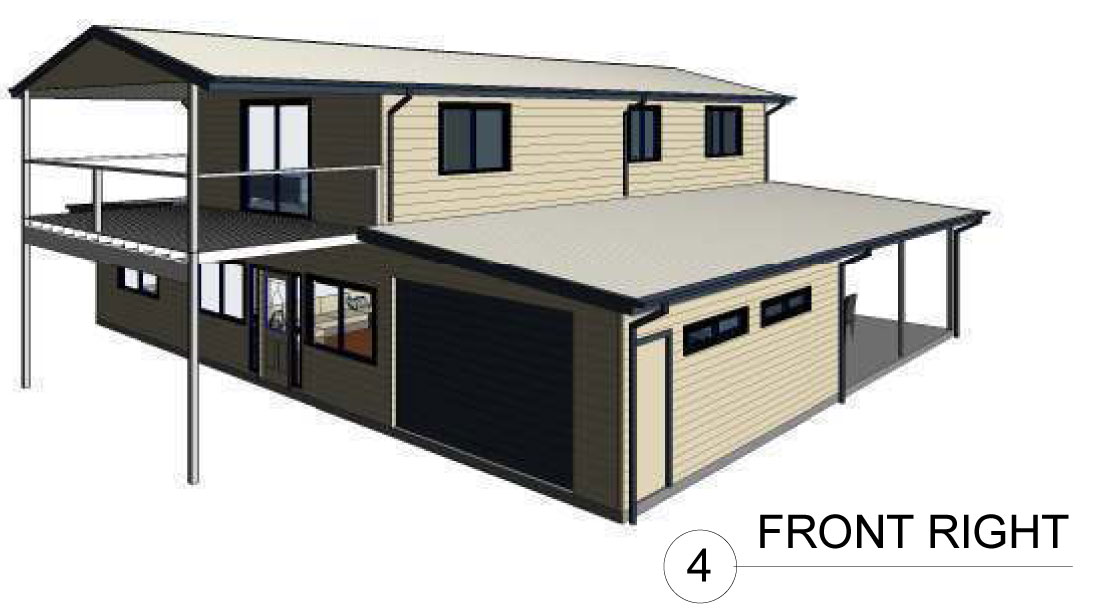 The Country Barn House Modular Steel Kit Homes