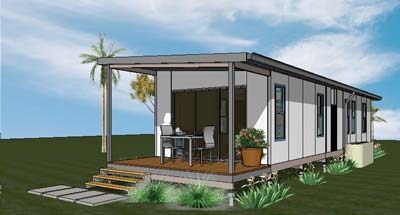 Insulated Modular Housing