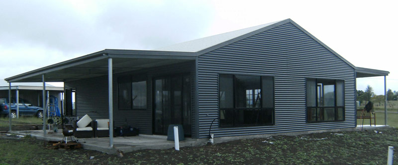The Portal Frame House Modular Steel Kit Homes